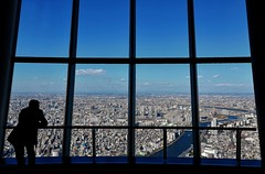 On top of Tokyo city! (Matthias Harbers) Tags: city panorama man reflection building tower window skyscraper photoshop river observation restaurant tokyo town nikon shinjuku view fenster haus stadt broadcasting labs dxo turm bauwerk sumida gebude hdr highdynamicrange tvtower ausblick hdri gebaeude metropole hochhaus topaz observationtower 18200mm 3xp photomatix tonemapped skytree highdynamicrangeimaging flickraward grosstadt d7000  tkysukaitsur tembodeck fehrseeturm rundfunksendeturm