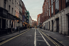 Soho I. (Adam Haranghy) Tags: street england people london cars shop night dark photography fuji britain soho great scene finepix shops ldn x100 grosbritannien