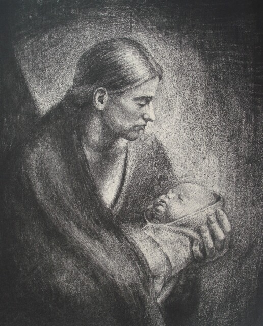Jan Ove Tuv_'Mother and child'