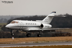 G-KLOE Raytheon Hawker 800XP (Nigel Blake, 2 million views Thankyou!) Tags: london cn airport aircraft bedfordshire raytheon luton hawker arriving 800xp 258674 gkloe
