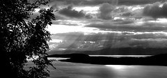 The Firth of Clyde (NickD58) Tags: sea silhouette islands scotland riverclyde arran largs cumbrae firthofclyde greatcumbrae theclyde visitscotland