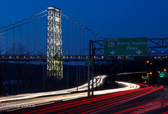 George Washington Bridge (ZUCCONY) Tags: nyc newyork west night highway university unitedstates riverside side henry hudson yeshiva pkwy 2013 afotando rememberthatmomentlevel1