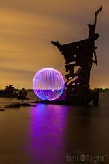 Ball of Light - The Documentary (biskitboy) Tags: lightpainting orb orbs balloflight lapp