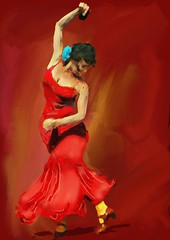 La Gitana (Pat McDonald) Tags: ballet espaa usa argentina america dance sevilla spain ballerina mediterranean danse seville granada bale gibraltar guitarist flamenco dans ballo intensity bsas albaicin bailar gitana bailaora castanet gitano andalus bailaoras buenasaires losgitanos brendanlally