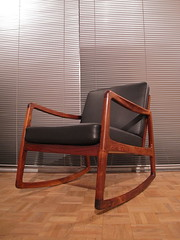 Ole Wanscher rocking chair (mcminteriors) Tags: france chair ole son rocking rosewood wanscher