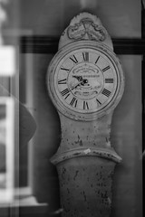 Vintage clock (Yulia Harding) Tags: wood blackandwhite clock time hertford vintageclock