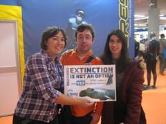 Dive Travel Dive Show, Spain (Project AWARE Foundation) Tags: padi cites projectaware sharkconservation cop16 cites4sharks