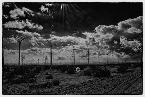 North Palm Springs Wind Turbines