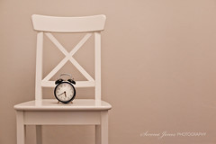 Time (Serena178) Tags: clock ikea chair soft time negative muted odc2