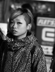 IMG_1441 (Hawkeye39) Tags: portrait blackandwhite monochrome japan tokyo candid streetphotography photographers japanesegirls streetphotographer