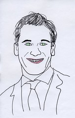 Jon Hamm (David Sperring) Tags: celebrity art doodle scrubs madmen davidsperring
