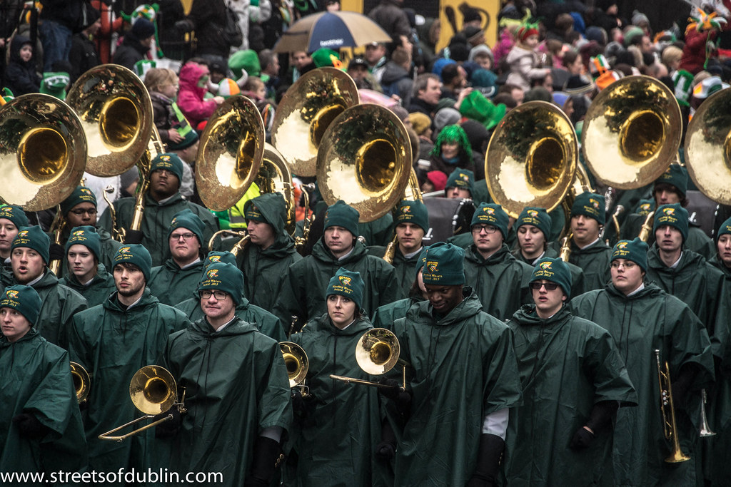 St. Patrick's Day Parade (2013) In Dublin Was Excellent But The Weather And The Turnout Was Disappointing
