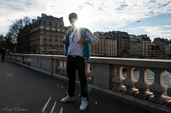 Shooting Hip-Hop improvis (Achraf CHOUCHANE) Tags: bridge sun paris soleil dance freestyle day sunny danse jour just pont hip hop contre debout achraf freestyl chouchane