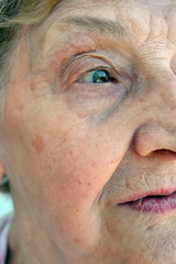 nima svia (hummingbird.) Tags: grandma portrait green eye grandmother profile lips soul wisdom ulls llavis nima svia
