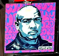 Sticker By Billikid Found In Lower Manhattan. (Allan Ludwig) Tags: sticker lowermanhattan billikid