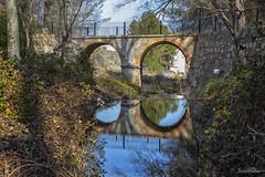 El puente (Pepe Palao) Tags: españa paisajes naturaleza fotos ríos imágenes albacete lagunas castillalamancha almansa charcas flickraward5 jopachi pepepalao lamearrera