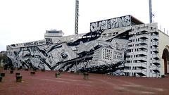 Bier & Brood - Clash Of The Titans (oerendhard1) Tags: urban streetart art wall mall graffiti rotterdam mural time mini clash bier koen titans nigh brood jelmer clashofthetitans harmsma hofbogen thetimeisnigh noordeman bierenbrood opperclaes