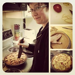 Apple Pie (creativity_unmastered) Tags: pie knife hand cutting slice treat dough apple kitchen baker edible color travels people art 2012 2013 created produced food simple prepared lovely delicious creative yummy eaten special baked cooked colors enjoyed instagram losangeles cityofangels sincity movieindustry adventure fun wild colorful view dailyvision losangelesartist working daily sightings hangout enjoyment lifetime edgy light focus timing perfect interesting artsy creativity goodshot moment rich wonder cool unique open lighting life