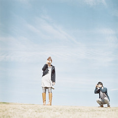 *shotting shotting (fangchun15) Tags: 120 6x6 film japan kodak hasselblad chiba motherfarm portra400