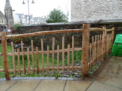 "Rustic Chestnut fence • <a style=""font-size:0.8em;"" href=""http://www.flickr.com/photos/61957374@N08/8592586279/"" target=""_blank"">View on Flickr</a>"
