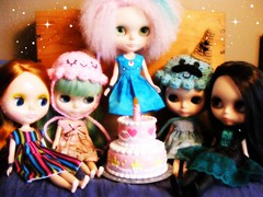 Blythe A Day March 26th:  Make Your Own Holiday