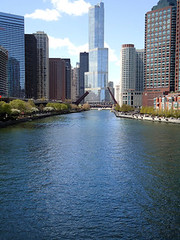Postcard (jdubs1993) Tags: bridge chicago skyline river illinois postcard aurora 2012 wahs westaurorahighschool