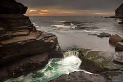 Canyon X - Warriewood Blowhole (Seany99) Tags: seascape water rock flow sydney australia shelf nsw canyonx sydneysnorthernbeaches warriewoodblowhole