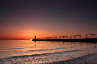 Sunset - South Haven MI