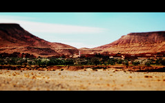 On the road (Bjrn Giesenbauer) Tags: rock morocco faketiltshift
