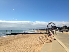 mar13 876 (raqib) Tags: blue sea sky beach mobile pier australia melbourne rc frankston iphone shadesofblue frankstonpier raqib raqibchowdhury