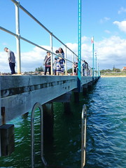 mar13 909 (raqib) Tags: blue sea sky beach mobile pier australia melbourne rc frankston iphone shadesofblue frankstonpier raqib raqibchowdhury