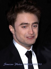 Daniel Radcliffe (iron_smyth48) Tags: red portrait white man celebrity english film face television shirt hair carpet star eyes harrypotter tie event jacket actor awards celeb