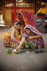 # 093 Sheetala Ashtmi (Rajesh_India) Tags: india festival religious women colorful sony prayer hyderabad holi sarees andhrapradesh sheetala ashtmi begumbazaar