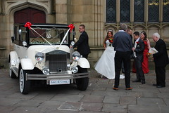 St Mary's Standishgate, Wigan (Calypso Wedding Cars of Wigan) Tags: pictures wedding white house snow classic cars church beautiful car st parish vintage manchester mercedes groom bride town hall office warrington nikon image rebecca quality thistle tag cream convertible keith images ferrari grace limo best bolton imperial rolls click malvern bridal ashton snowfall leigh bridegroom luxury royce sthelens ashfield calypso registry journeys bryn daimler stmarys wigan beauford lowe haigh hamlett renown haydock prescot horgans ashtoninmakerfield landaulet makerfield johnbarlow limopictures limoscene ashtoninmakefield
