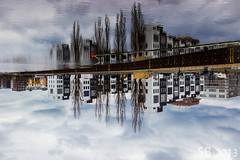 Inverted World (SB Photography!) Tags: berlin clouds reflections river wolken fluss spree spiegelung weitwinkel canon1022mm sbphotography ©sb canoneos600d stefanbehm