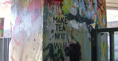 Make Tea Not War (colwynboy*) Tags: castlebar maketea