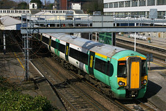 377454, Southampton Central (Southsea_Matt) Tags: southamptoncentral southernrailway class377 377454