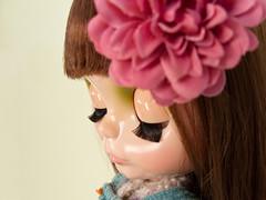 2013 - 096/365 (Helena / Funny Bunny) Tags: doll blythe flowerbouquet babysbreath rbl adad funnybunny 2013 solidbackground fbphoto fbfashion