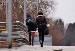 Girls walking (osto) Tags: denmark europa europe sony zealand dslr scandinavia danmark a300 sjlland  osto alpha300 osto april2013
