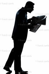 silhouette man walking reading newspaper surprised full length (Franck Camhi) Tags: people white news man france male silhouette businessman cutout magazine walking person reading one 1 newspaper profile fulllength style business suit whitebackground mature surprise surprised studioshot elegant press sideview executive isolated oneperson amazed shocked stylish elegance caucasian oneman 40years