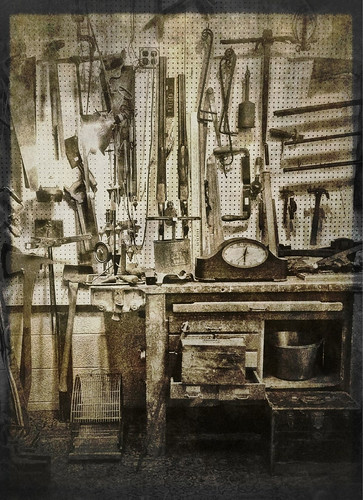 Tools of the trade by Jack Mallon, on Flickr