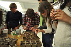 Seed Starters' Happy Hour: Starting Seeds (The Hort) Tags: gardening seed cocktails starters planting select thehort