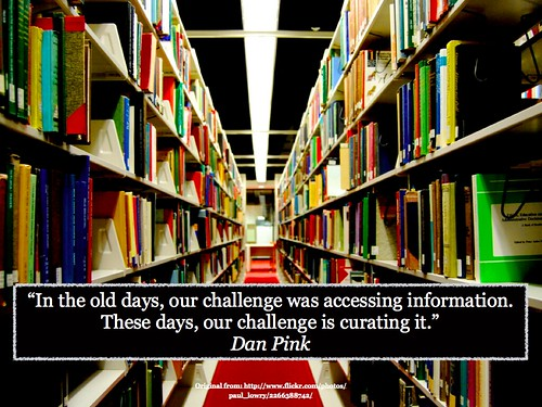 Curation of Information by gcouros, on Flickr