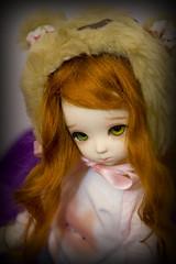 Hannah (w3ird37) Tags: ball doll hannah tiny bjd asleep sha jointed dou eidolon yosd