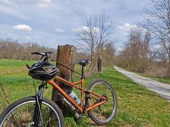 The Ohio & Erie Canal Towpath Trail (tbower) Tags: ohio bicycle giant geotagged canal raw recreation towpath cs5 giantyukon starkcountyohio canong11