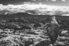 The Walk (Dominick Nicholas Valdivia) Tags: blackandwhite mountains clouds hawaii fight rocks oahu walk northshore hawaiian tropical tropic honolulu struggle anseladams bolders experiance 808