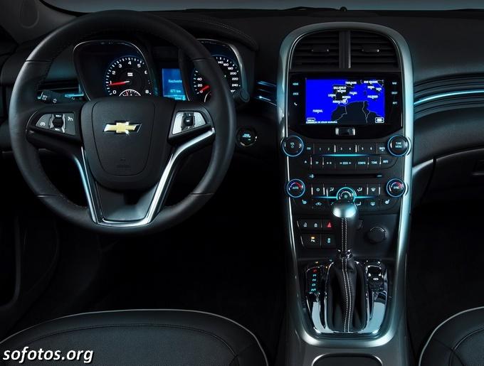 Chevrolet Malibu 2013 central multimídia