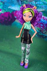 ~ 109/365 (Hamsteh) Tags: purple sister mh sisterpack clawdeen monsterhigh clawdeenwolf