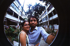 Tiong Bahru Love (raspberry dolly) Tags: lomography singapore fisheye tiongbahru lomofisheye