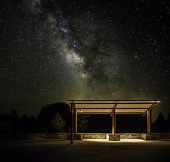 Copyright 2012 Ahmad Alothman (Ahmad Al-Othman) Tags: trees arizona sky night stars grandcanyon universe milkyway